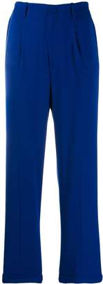 Blumarine high-waisted cigarette trousers
