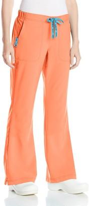 Carhartt Women's Petite Cross-Flex Flare Scrub Pant
