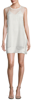 Dolce Vita Elle Mesh Overlay Shift Dress