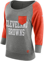 Nike Women's Cleveland Browns Vintage Crew Long Sleeve T-Shirt
