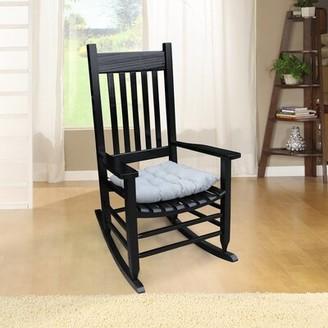 Longshore Tides Mentone Rocking Chair Color: White