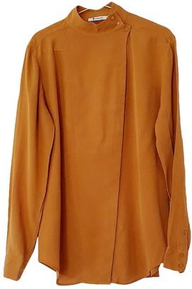 Alexander Wang Camel Silk Top for Women