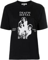 McQ death metal print T-shirt