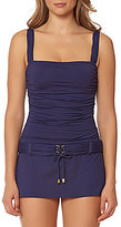 Bleu Rod Beattie Cruise Control Underwire Belted Swimdress