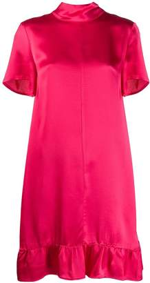 Semi-Couture Semicouture ruffled shift dress