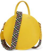 Clare Vivier Alistair Small Leather Shoulder Bag - Yellow