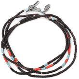 M. Cohen thin beaded bracelet
