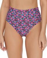 Thumbnail for your product : Raisins Juniors' Sunshine Gypsy High-Waist Tropics Bikini Bottoms Women's Swimsuit