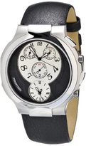 Philip Stein Teslar Women's 9-CRS3-CB Quartz Analog Dual Time Chronograph Watch