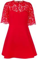 Valentino lace crepe couture dress - women - Silk/Cotton/Polyamide/Virgin Wool - 42