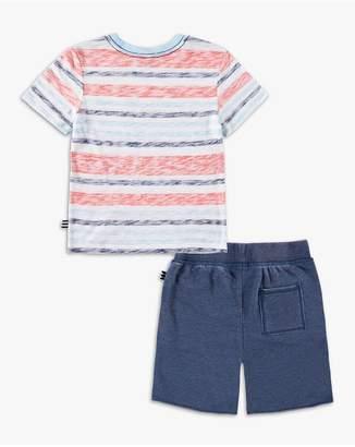 Splendid Kids Little Boy Striped Pocket Tee Set
