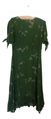 Faithfull The Brand Green Polyester Dresses