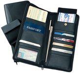 Royce Leather Passport Wallet