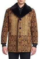 Saint Laurent Faux Shearling Jacket