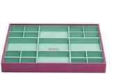 Wolf Large Standard Stackable Tray, Orchid