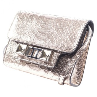 Proenza Schouler PS11 Metallic Leather Clutch bags