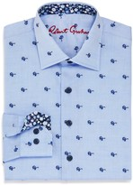 Robert Graham Boys' Tareck Sunglasses Print Dress Shirt