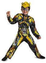Disguise Boys' Transformers - Bumblebee Toddler Muscle Costume 3T-4T