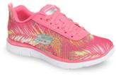 Skechers Girl's Skech Appeal 2.0 Tropical Breeze Sneaker