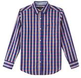 Nautica Boys' Long Sleeve Woven Shirt.