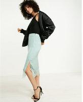 Express Lace Hem Slip Skirt