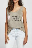 Wildfox Couture Tanlines Roadtrip Tank
