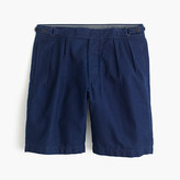 J.Crew Wallace & Barnes double-pleated short in indigo chambray