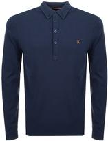 Farah Merriweather Polo T Shirt Navy
