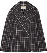 Awake Jellycheck Oversized Cotton-blend Twill Jacket - Navy