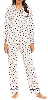 Kate Spade Dotted Flannel Pajamas