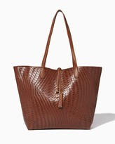 Charming charlie Woven Bag-In-Bag Tote
