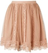 RED Valentino lace mini skirt - women - Polyester - 36