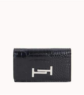 Tod's Tods Wallet In Crocodile-Printed Leather