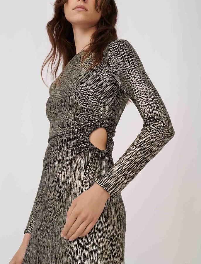 Maje Stretch fabric figure-hugging dress