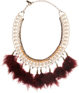 Etoile Isabel Marant Short Feather Necklace