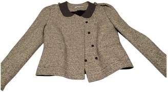 Carven Grey Tweed Jacket for Women