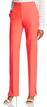 Rag & Bone Jess Twill High-Waisted Straight-Leg Pants