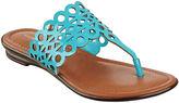 Liz Claiborne Jenesca Cutout Sandals