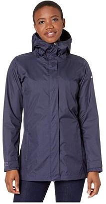 Columbia Splash A Little II Rain Jacket (Black) Women's Coat