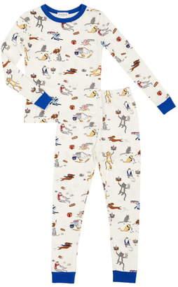 Bedhead Pajamas Cat Print Pajamas