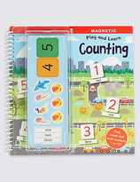 Marks and Spencer Magnetic Play & Learn Counting Book