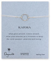 Dogeared Karma Collection Sterling Silver Chain Bracelet