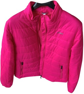 Asics Pink Polyester Coats
