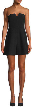 LIKELY Pleated Front Mini Dress