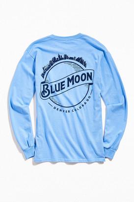 Urban Outfitters Blue Moon Denver Long Sleeve Tee