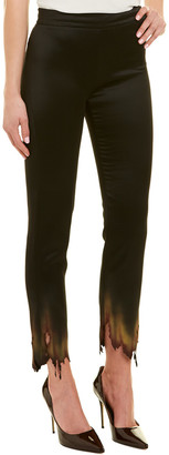 Moschino Cropped Wool-Blend Trouser