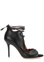 Malone Souliers Savannah black leather sandals