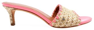 Kate Spade Raffia Heeled Sandals