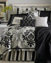 Maxwell Bed Linens Queen Black Coverlet