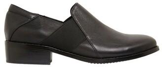 Easy Steps Baron Black Glove Flat Shoes